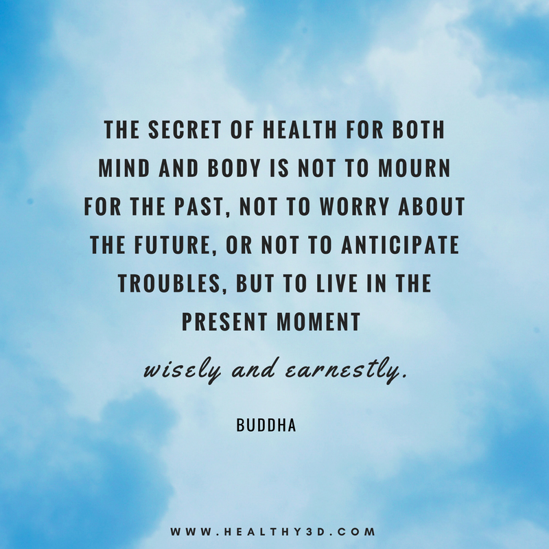 Appreciate the moments of today    #healthy3d #healthquotes