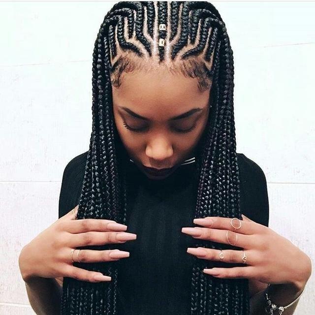 Latest Awesome Ghana Braids Hairstyles Braided