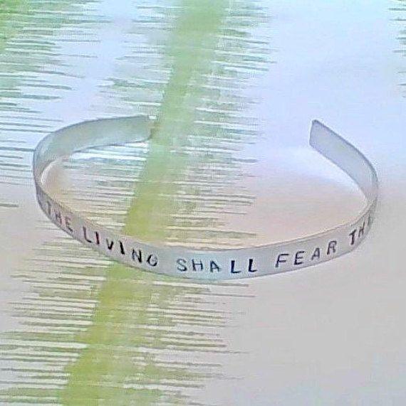 bracelet gamer bracelet all living shall fear the by ragequitgifts