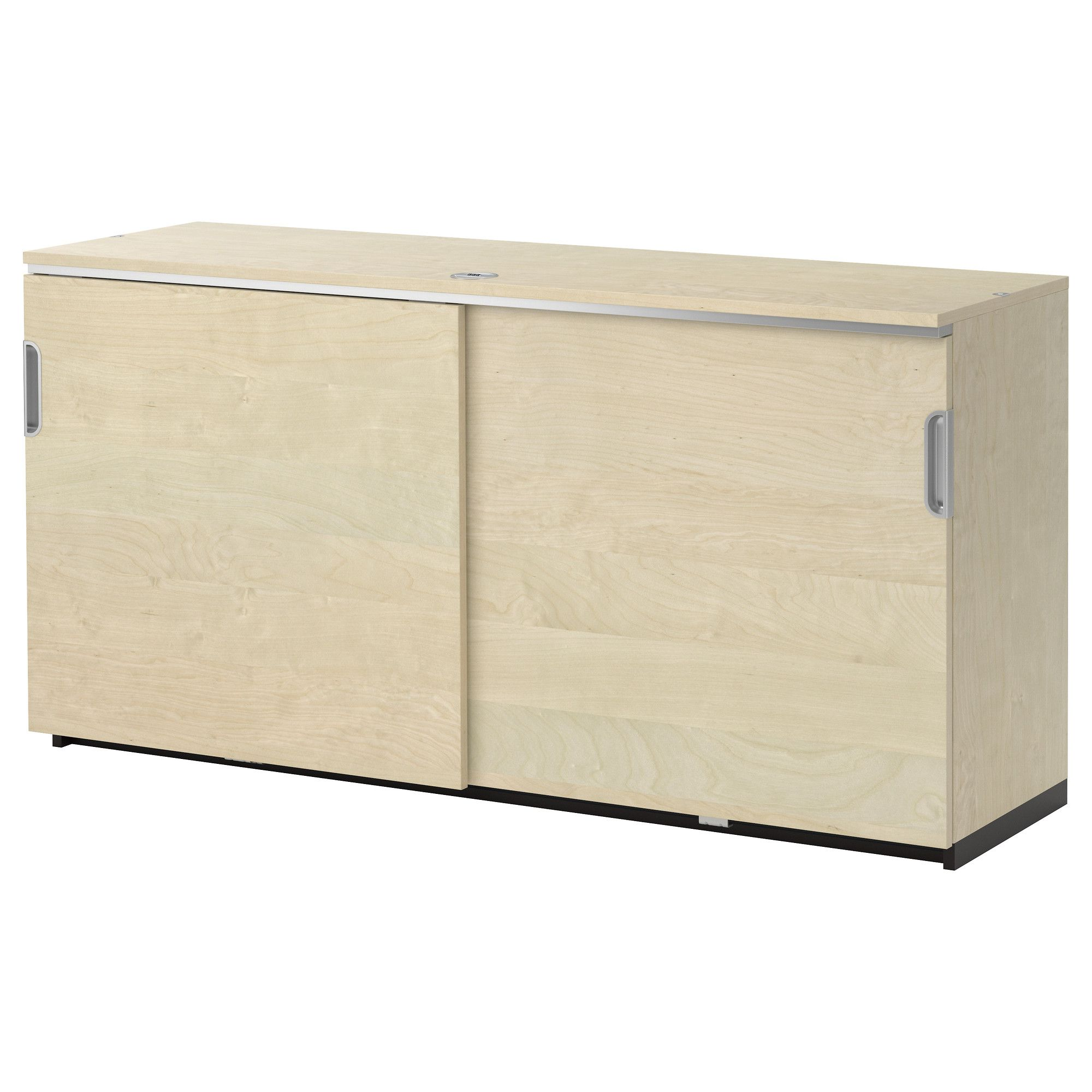 Galant Cabinet With Sliding Doors Gray Ikea Dining