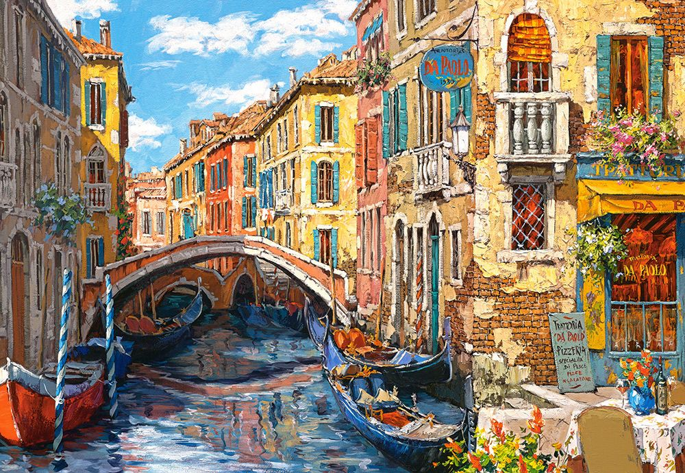 Reflections of Venice - 1000pc Jigsaw Puzzle By Castorland