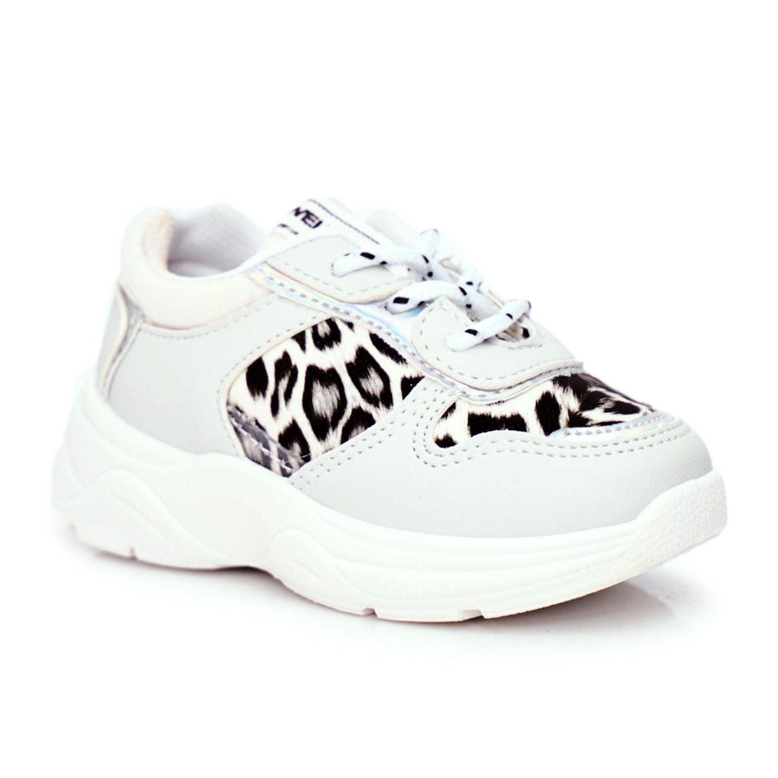 Frrock Obuwie Sportowe Dzieciece W Panterke Czarne Penny Biale Shoes Sneakers Fashion