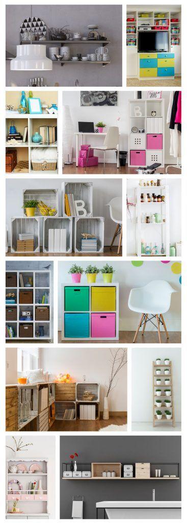 regale sch n einr umen und praktisch b cher sortieren und dekoration unterbringen tipps und. Black Bedroom Furniture Sets. Home Design Ideas