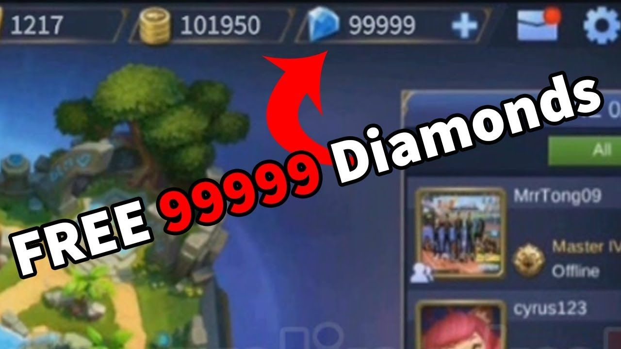 mobile legends hack 2019 - diamonds and coins cheats for