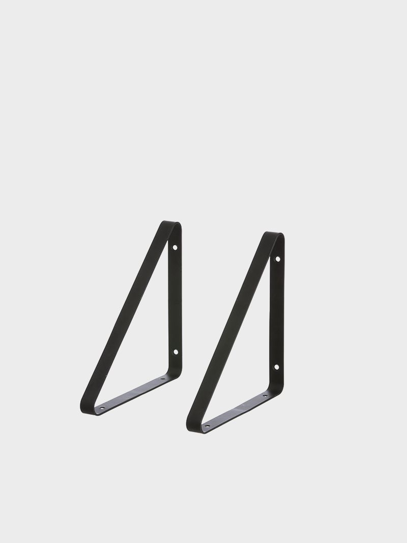 Shelf Hangers Black Set Of 2 Avec Images Deco Gaspard