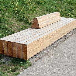 massive holzbank im einsatz derzeit auf dem buga gel nde in koblenz koblenz verwandelt 2011. Black Bedroom Furniture Sets. Home Design Ideas