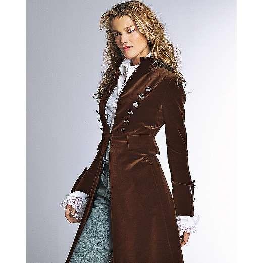 Womens riding coat
