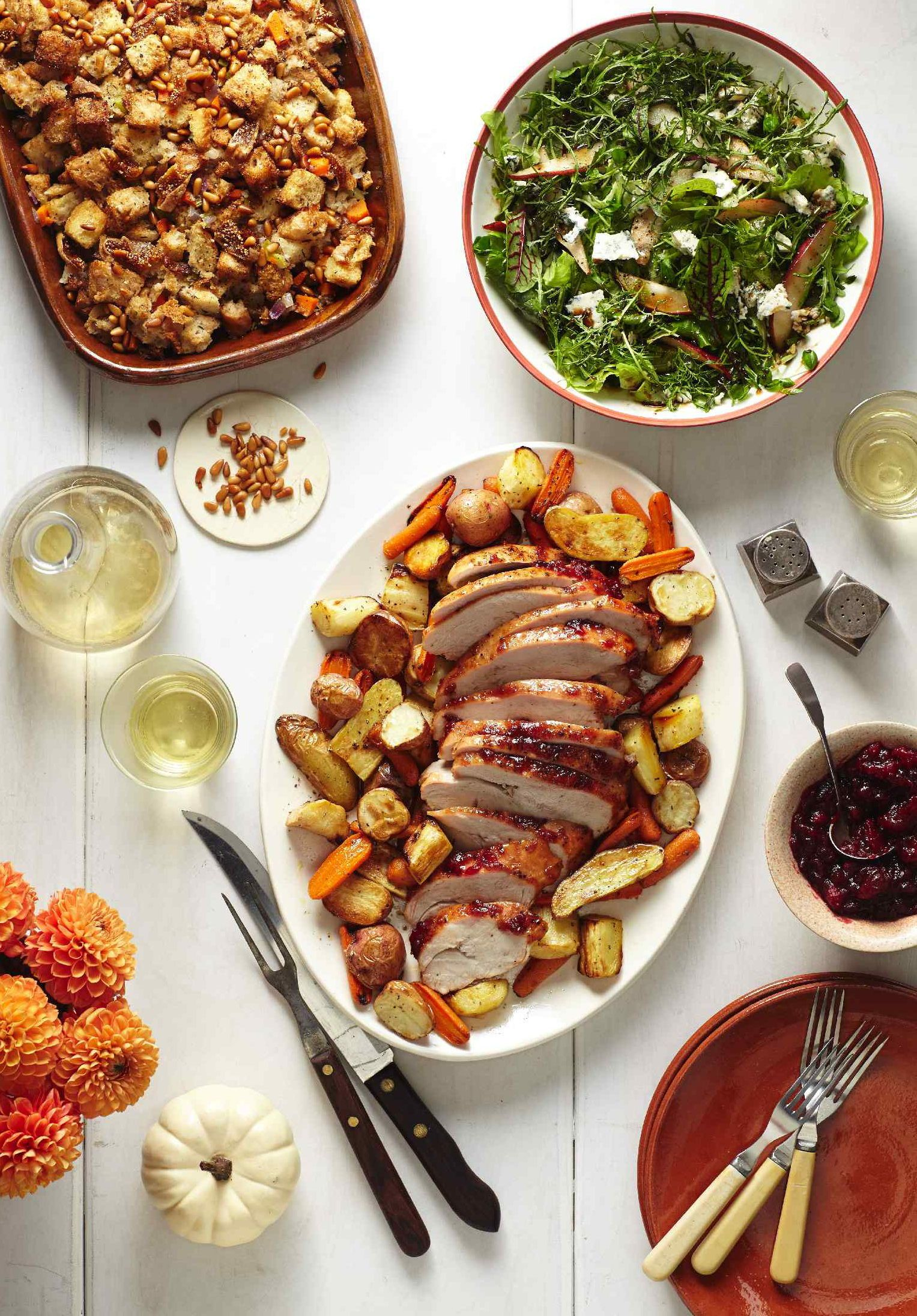 Easy Turkey Dinners with Boneless Whole Breasts