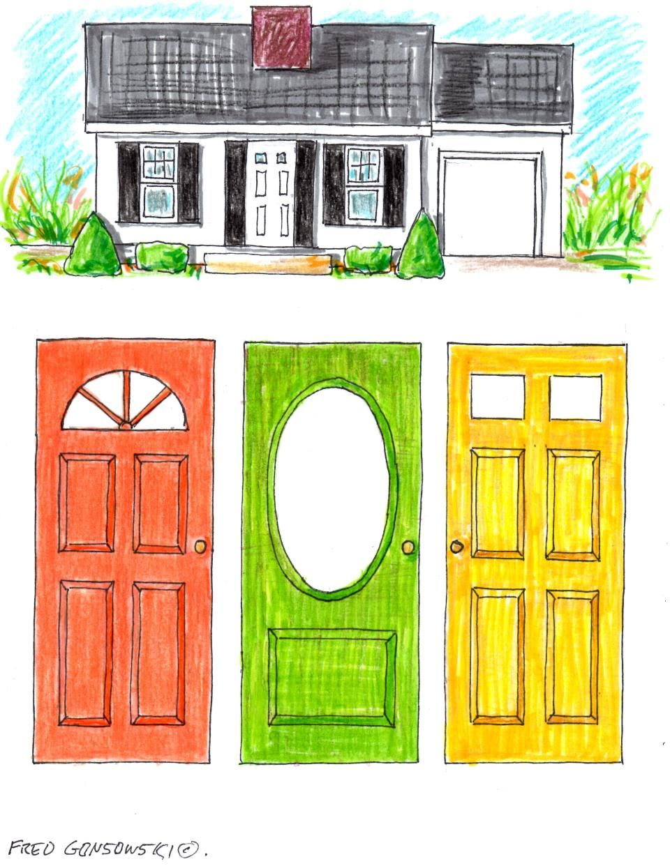 HOW TO; Pick a paint color for your front door | painting ...