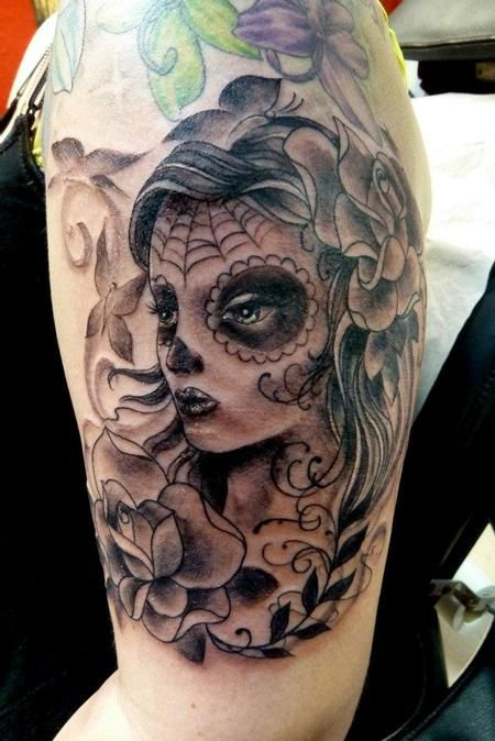 Day Of The Dead Girl Tattoo Designs - Bing Images