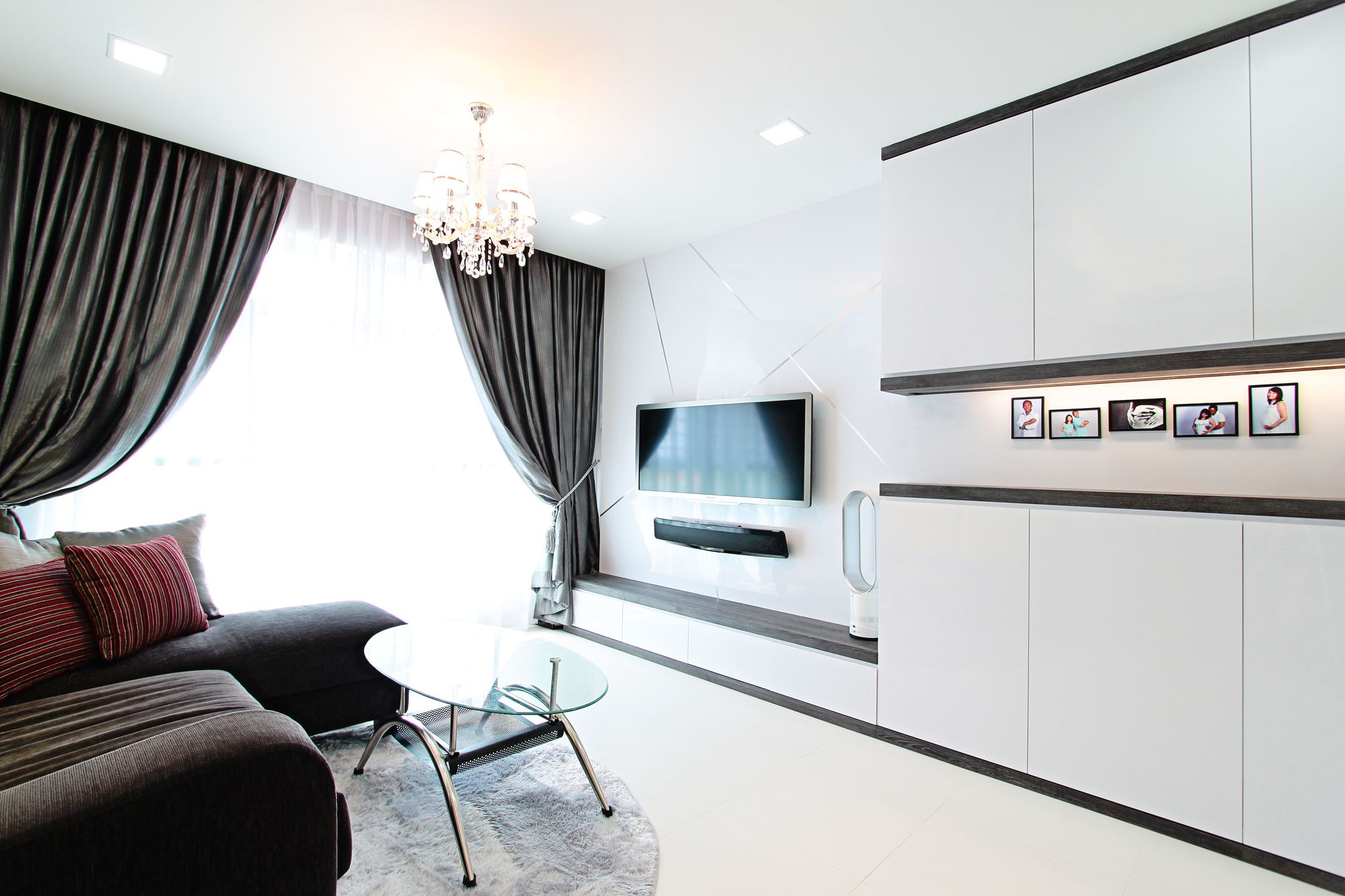 Best Hdb 4 Room Standard Flat 92Sqm Loved The Clean Black And White Theme House Home Decor 400 x 300