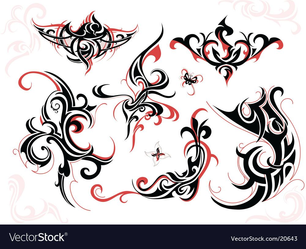 Tribal Tattoo Design Download A Free Preview Or High Quality Adobe Illustrator Ai Eps Pdf And Hig In 2020 Tribal Tattoo Designs Tribal Tattoos Circle Graphic Design