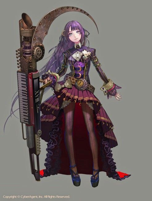 Anime Steampunk Steampunk Characters Character Design