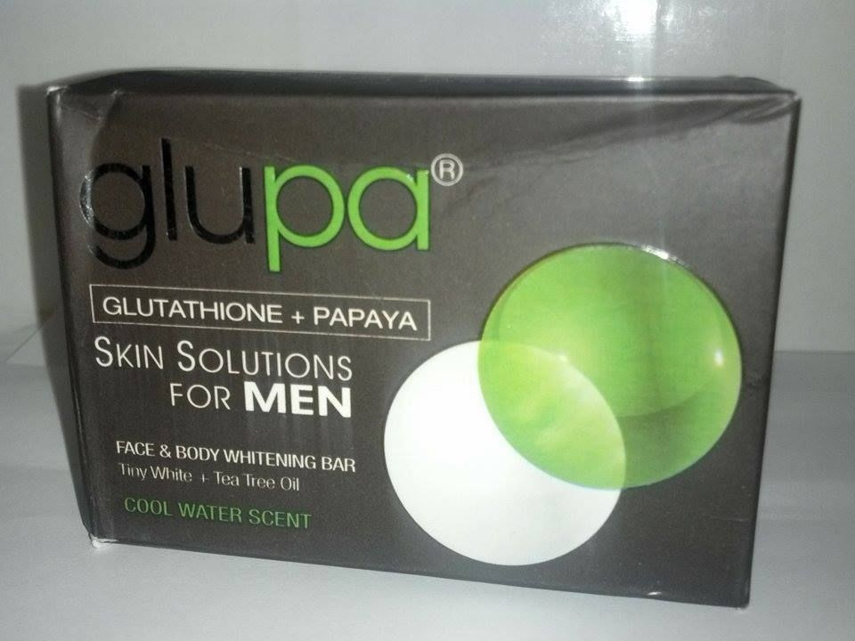 Glupa Glutathione Papaya Skin Whitening Soaps for MEN 100 ...