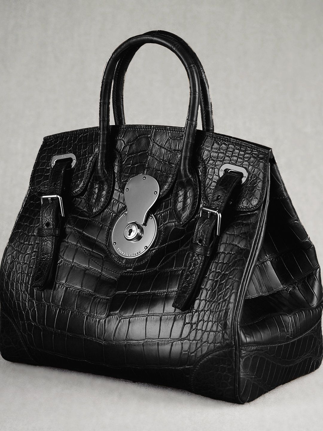 The Alligator Ricky Bag - The Ricky Bag   Luxury Accessories - RalphLauren.com