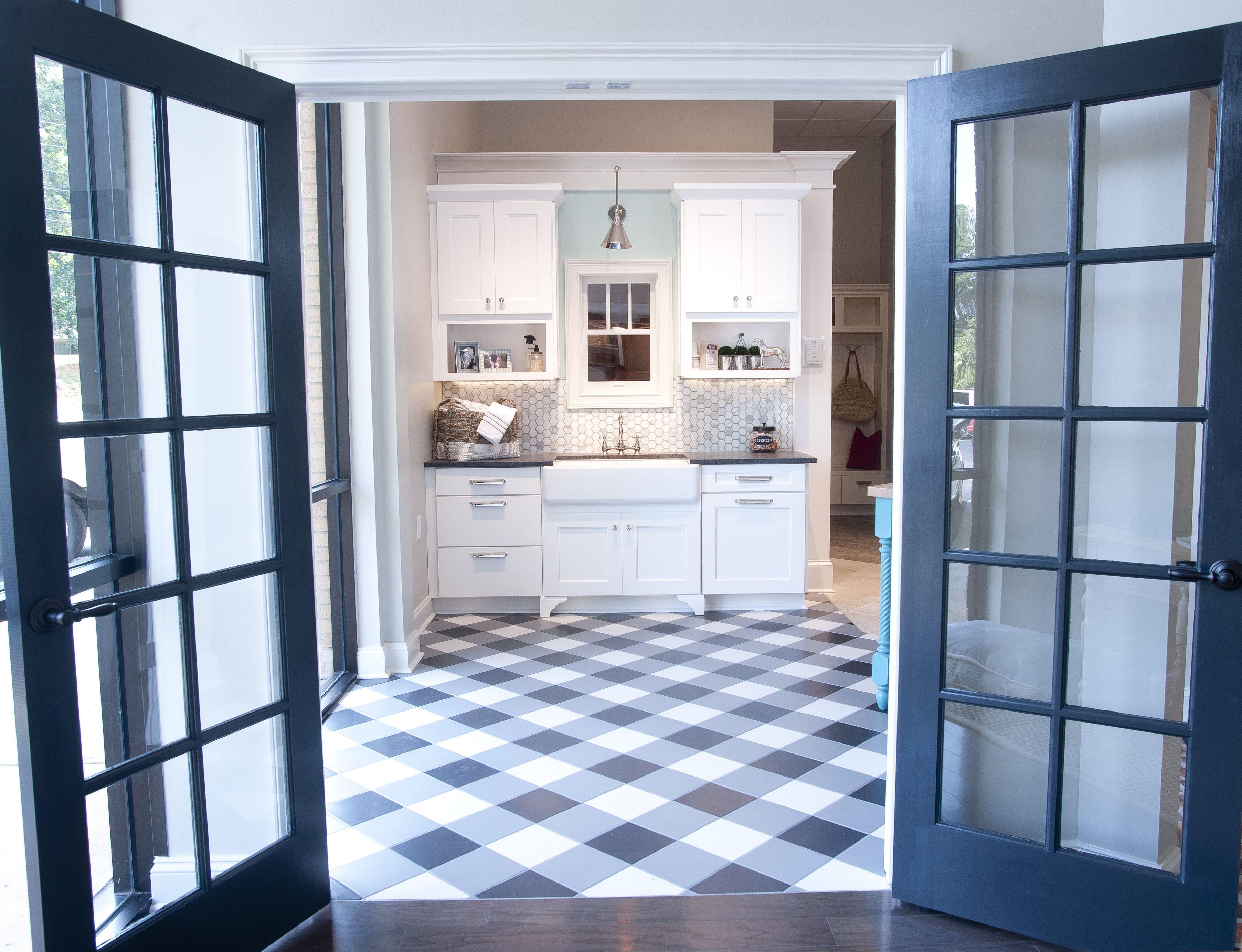 laundry room design by dalton carpet one wellborn cabinets finish glacier mdf door style