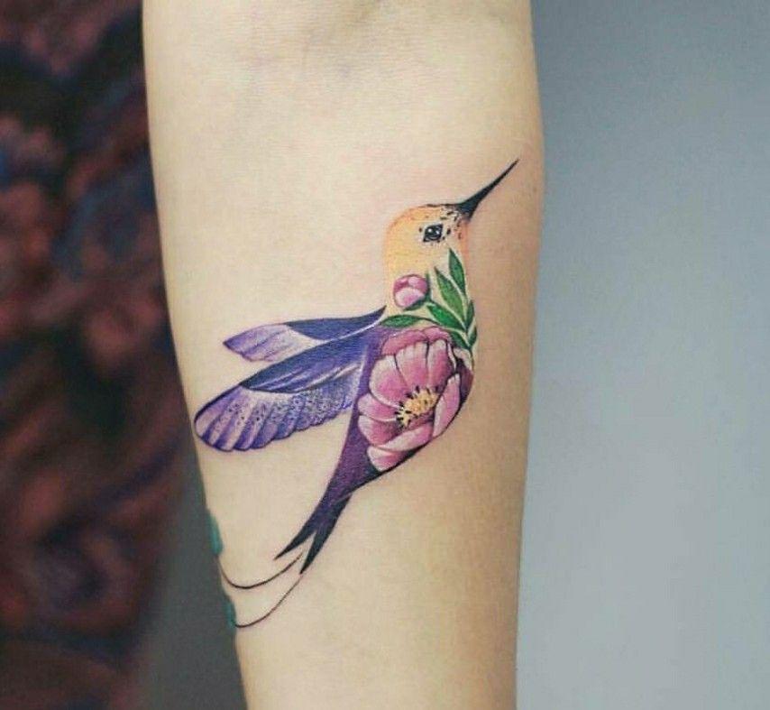 Hummingbird Tattoo By At Botykanna Tatuajes Hummingbird Tattoo