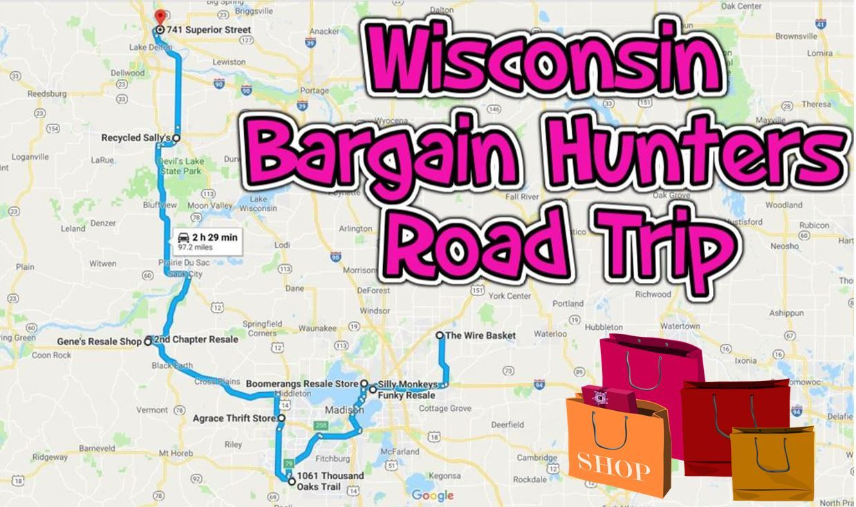 Take This Bargain Hunters Road Trip To The Best Thrift Stores In