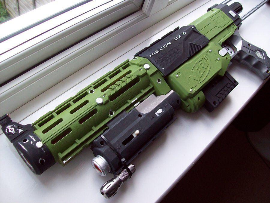 deviantART: More Like District 9 Nerf Gun Final Ed. by *JohnsonArms