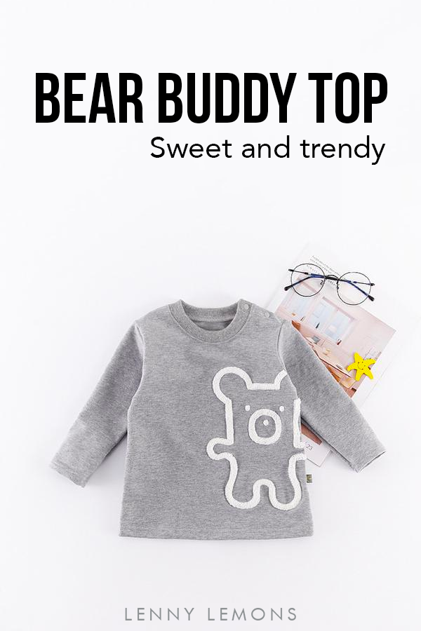 183bf96ab Sweet and trendy top for kids. Lenny Lemons Collection  LennyLemons ...