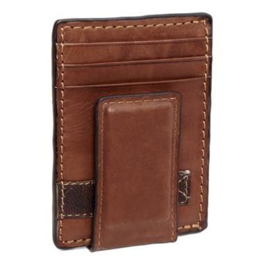 10e62b458491 Relic® Barea Leather Front-Pocket Wallet with Money Clip found at ...