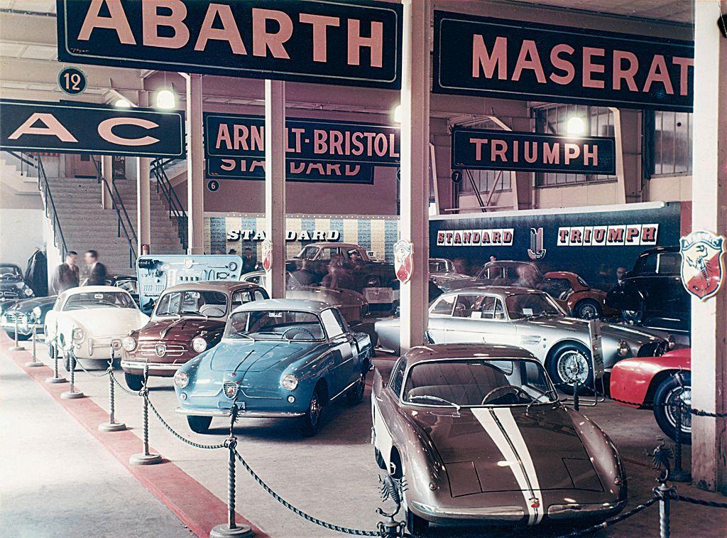 Abarth at Geneva Motor Show (1956) Fiat 600, Automobile