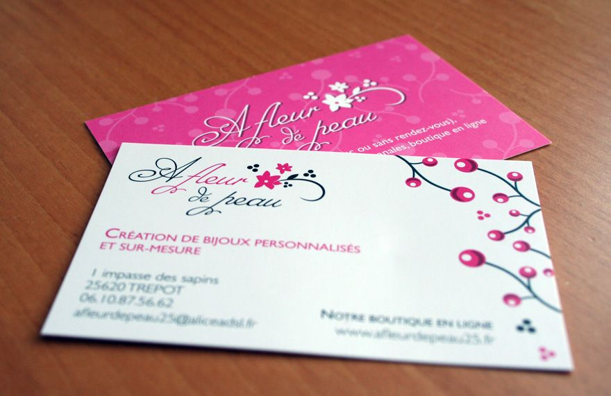 Cute Business Card Design Ideas for Women | Projects to Try ...