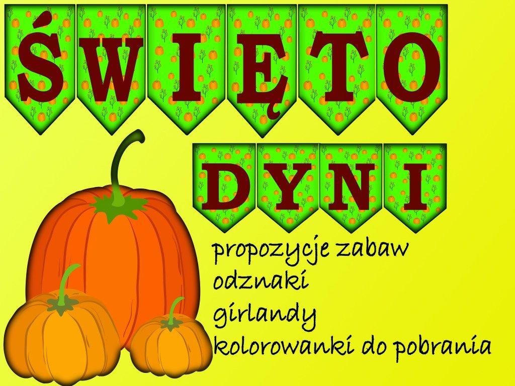Swieto Dyni Odznaki Girlandy Pomysly Materialy Do Pobrania Pastelowe Kredki In 2020 Pumpkin Halloween