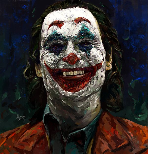 Amazing Digital Portraits Painting By Ahmed Karam Inspiration Graphic Design Junction In 2021 Joker Iphone Wallpaper Batman Joker Wallpaper Joker Wallpapers Joker wallpaper for iphone pro