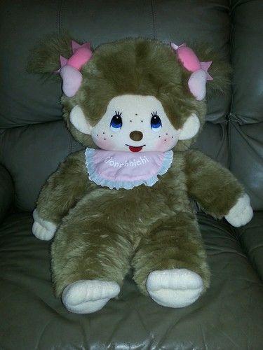 Monchhichi Monchichi Sekiguchi Monkey Stuffed Plush Toy Gift From