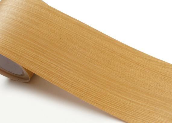 Peel & Stick Border Sticker Beech Wood Pattern Self