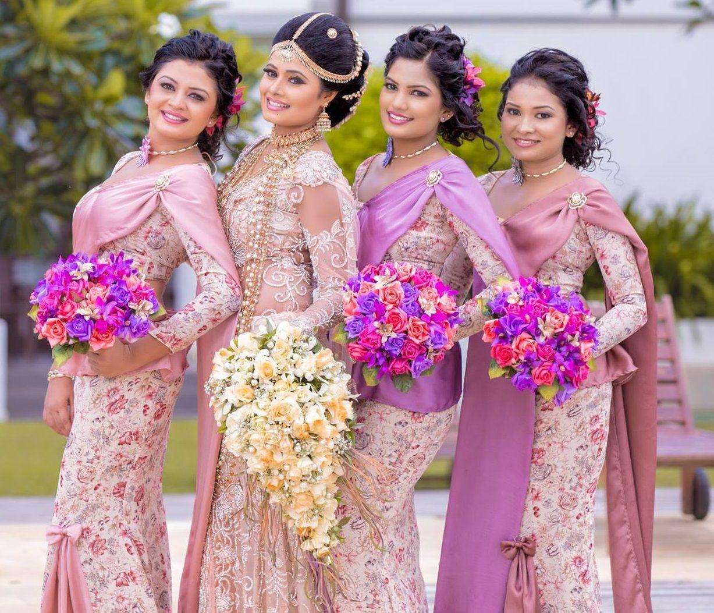 Wedding Hairstyle In Sri Lanka: Pin On Sri Lankan Weddings