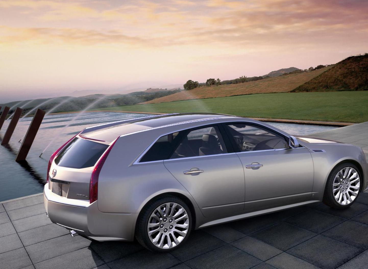 Pin on Cadillac CTSV WAGON Dreams!
