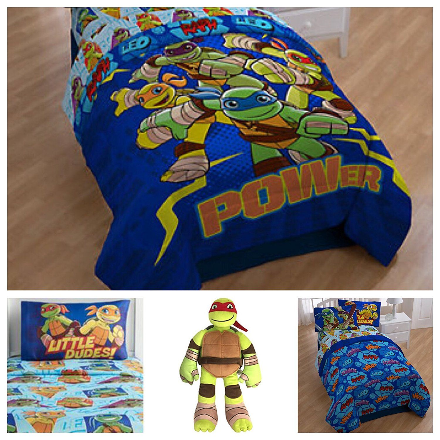 Teenage Mutant Ninja Turtles TMNT Bedding Comforter Set ...