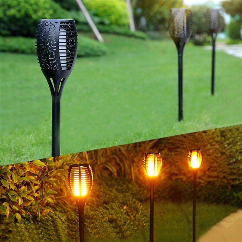 036 28 79 Ndash 036 56 79free Shipping Solar Flame Flickering Garden Lamp Torch Shop The Nation Http Solar Lights Garden Solar Lights Lawn Lights