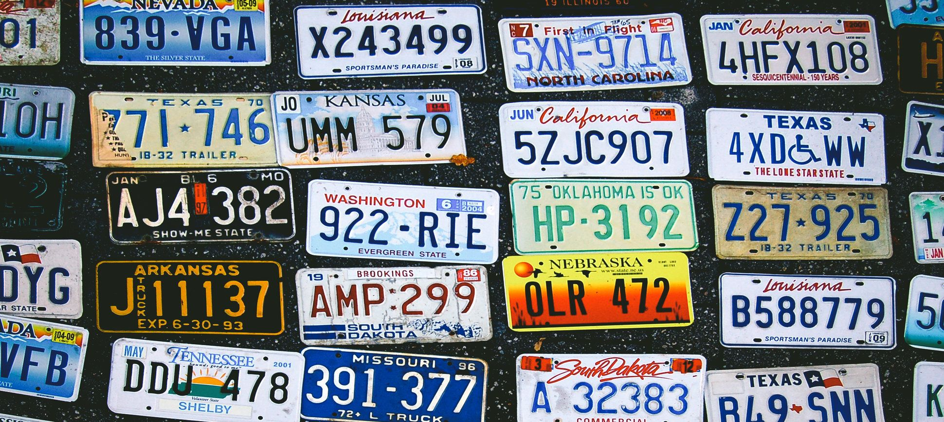 State The PlatesCan You Recognize Every US States License - Us map license plate puzzle