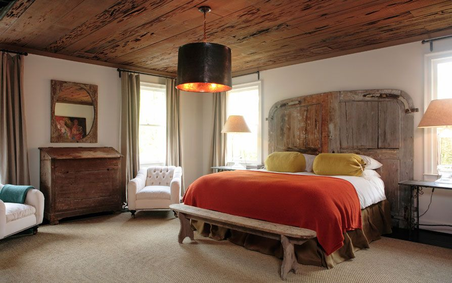 2012 Decor Trends... Mixed Texture, Wood Ceiling, Over-Scale Lighting and Pantone Color of the Year: Tangerine Tango...