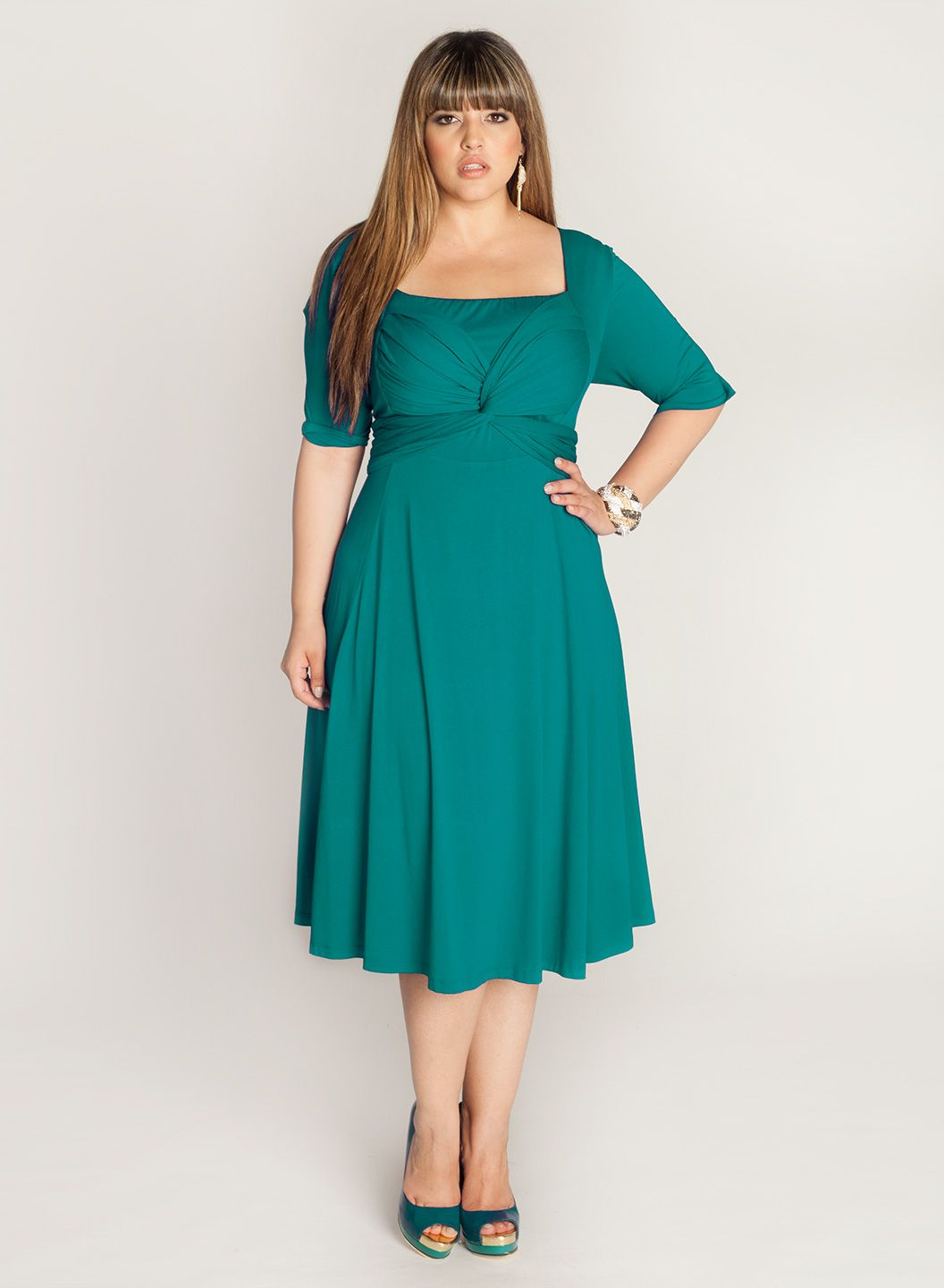 Plus Size Woman Clothing, High Fashion Dresses for the Full Figure ...