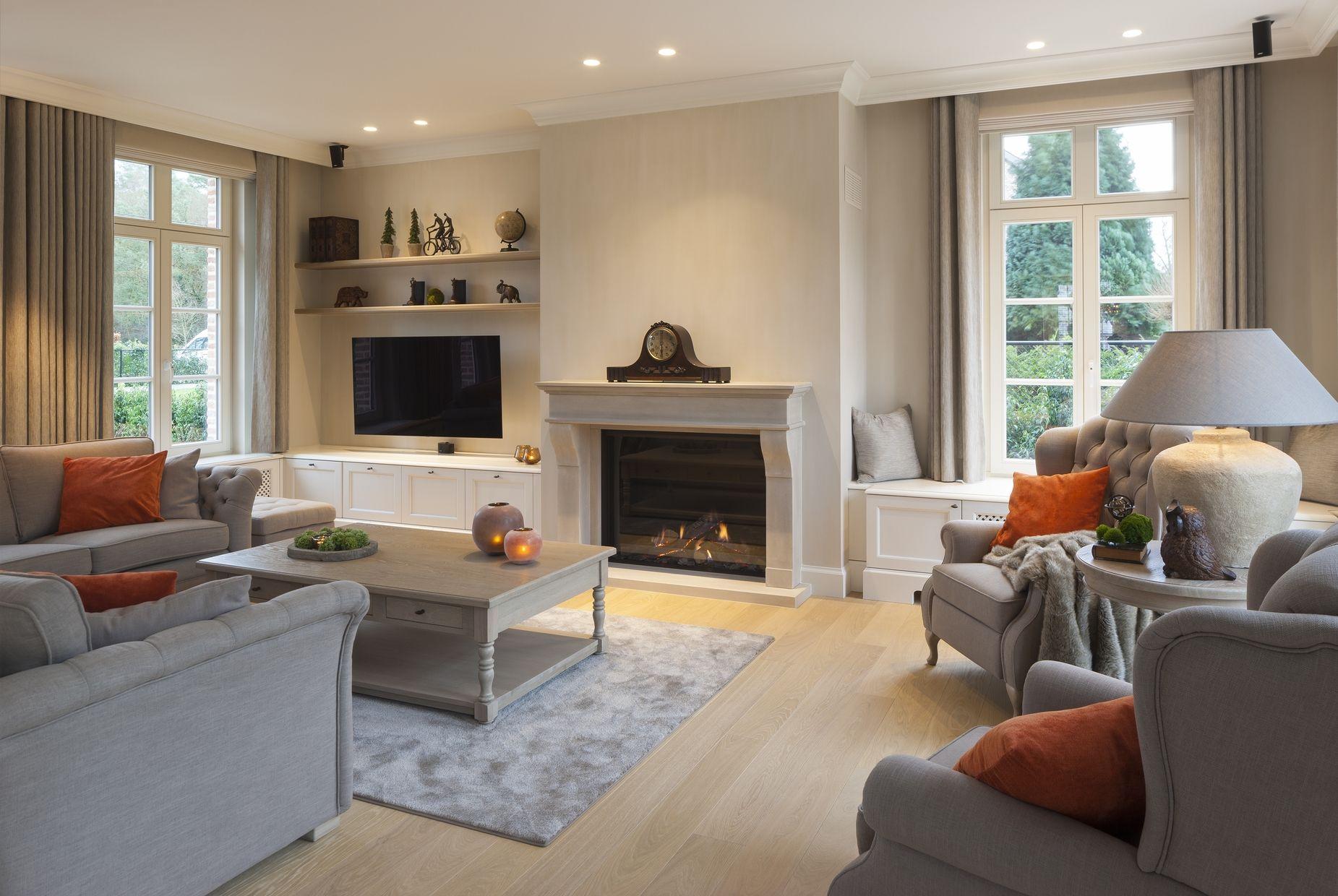 Open Haard Renoveren : Magnus villa s villabouw u renovatie u interieur openhaard