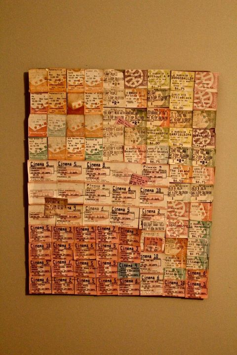 I Want To Do This Its Movie Ticket Stubs