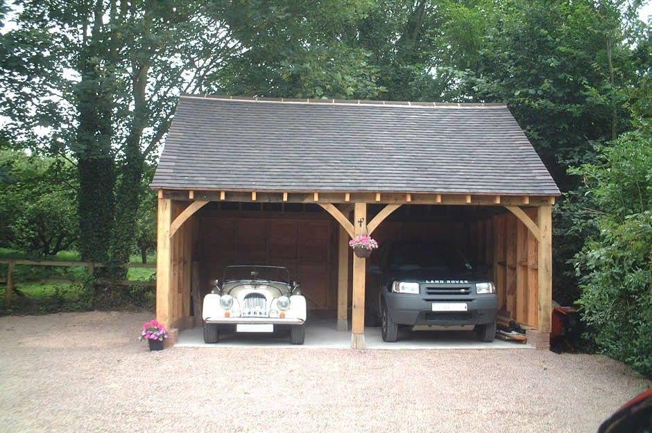 Mitre oak ltd bespoke oak garden rooms oak garages for Alaska garage kits