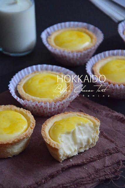 Hokkaido Bake Cheese Tart Di 2020 Egg Tart Resep Makanan Penutup Makanan