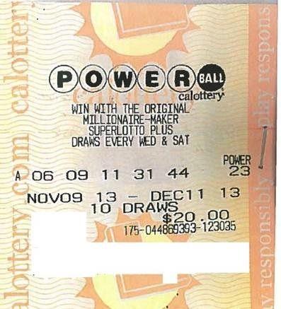 Sacramento man becomes millionaire with Powerball ticket