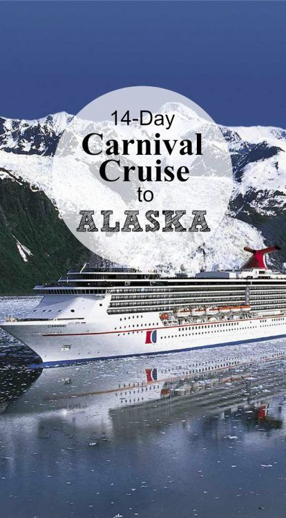 New Carnival Alaska Cruise 14 Day Journey In 2017