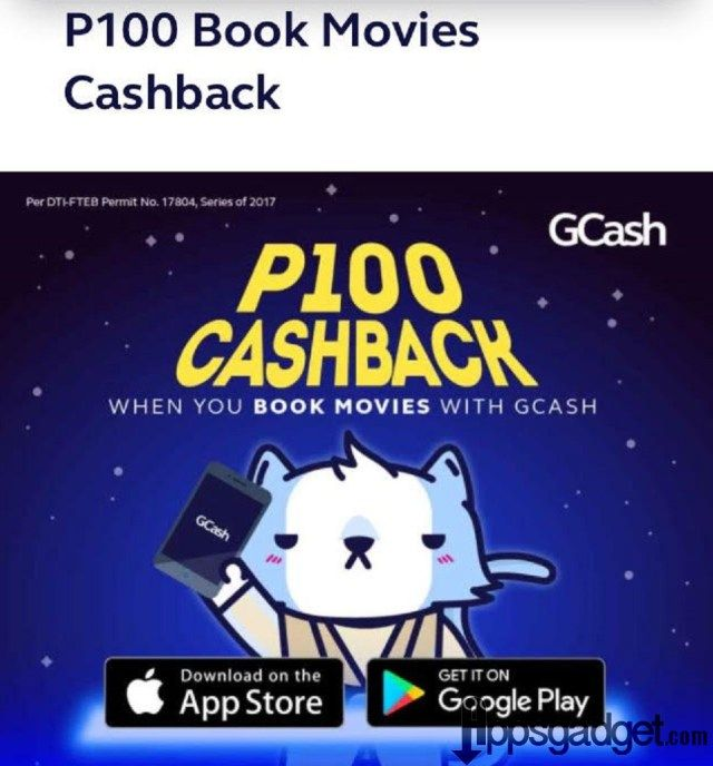 Using Globe GCash Get P100 Cashback in Ayala Cinemas from
