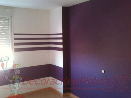 Resultado de imagen para pintar paredes rayas horizontales | colegio ...