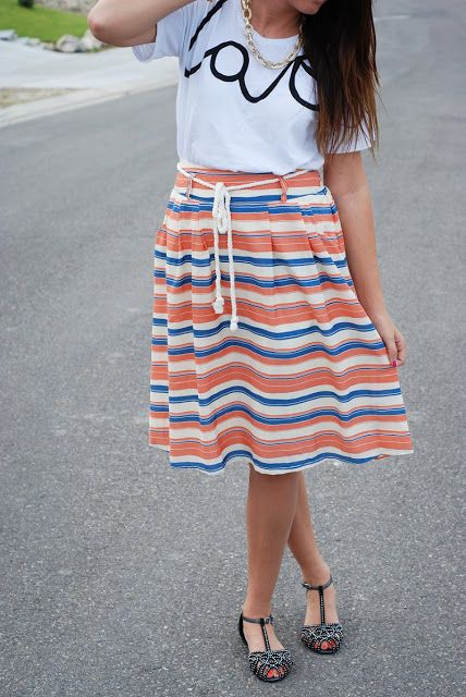 love and nautical casual outfit from the red closet diary