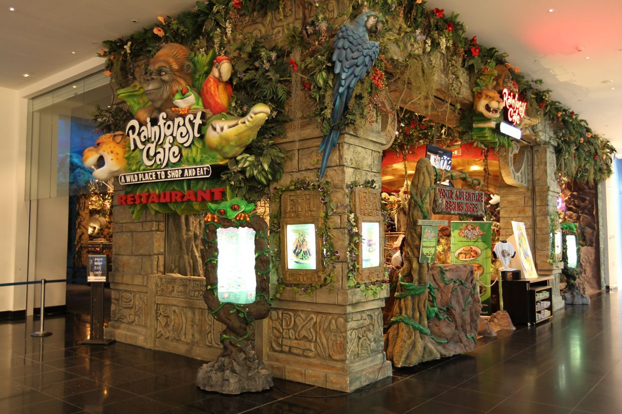 Rainforest Cafe in The Dubai Mall | sUpeR cOoL aWesoMe StuFf ...
