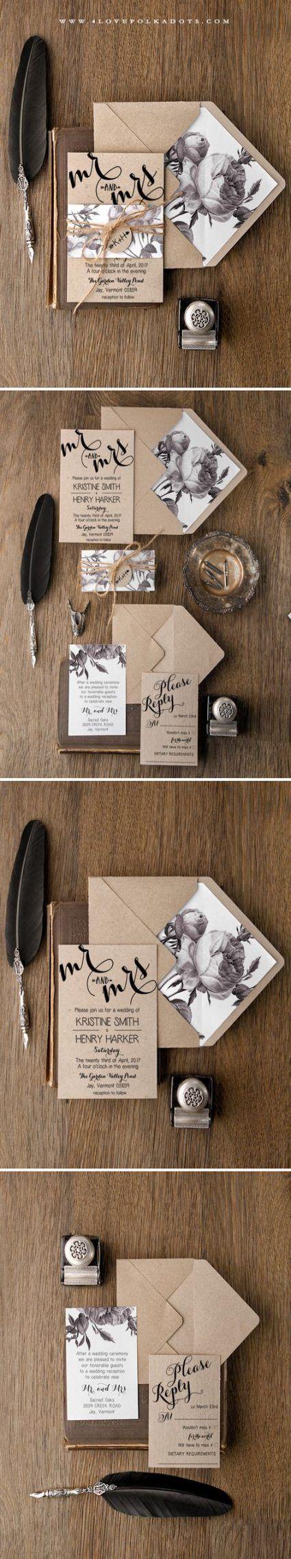 Wedding invitations rustic cricut 57+ Trendy Ideas