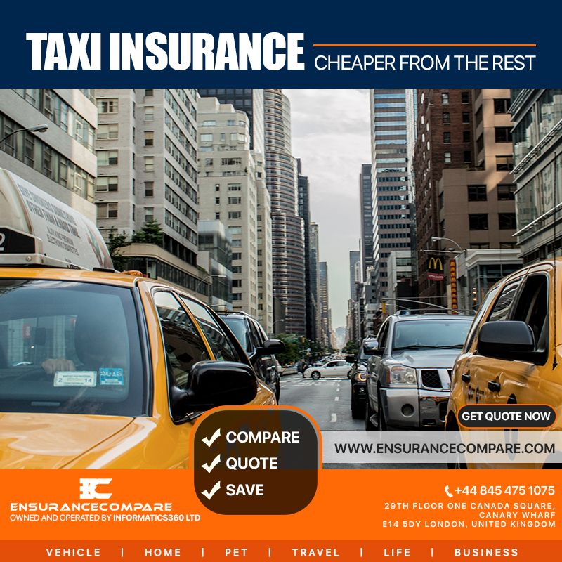 Buying A Taxiinsurance Is An Essential Need For Every Taxi Driver